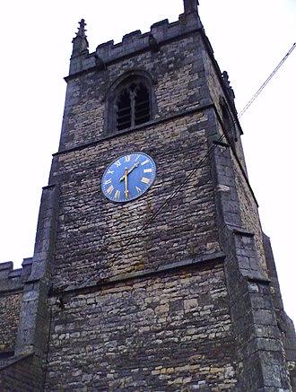 Blyton - Image: St Martin de Tours (tower clock), Blyton
