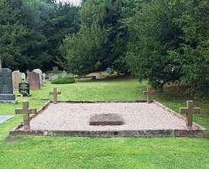 Sir Richard Grosvenor, 4th Baronet - Image: St Mary's Church Eccleston, Old Churchyard old Grovenor family gravesite 1