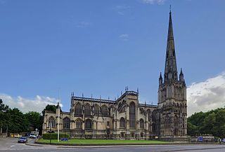 St Mary Redcliffe Church in Bristol, England
