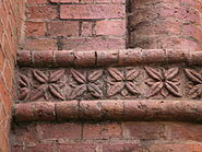 St Michael and All Angels Church, Blantyre, Malawi Brick Detail 2