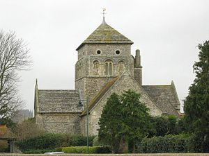 Shoreham-by-Sea - St Nicolas' Church.