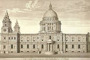 1708 in architecture - St Paul's Cathedral, London