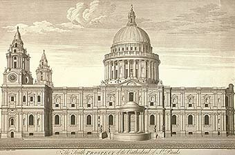 St Paul's - the final design
