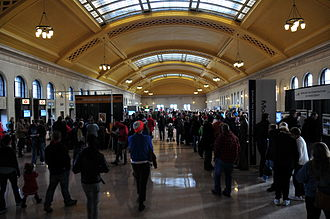 Saint Paul Union Depot - Grand opening of the newly renovated waiting room