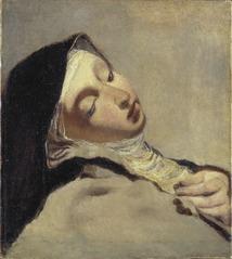 St Teresa in extasy