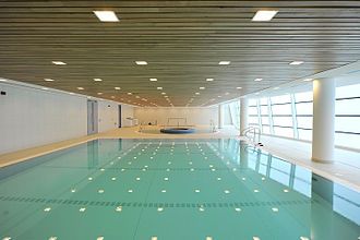 St George's Park National Football Centre - Image: St george's park July 2012 Hydrotherapy Suite