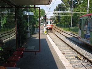 Dortmund Stadtbahn - Image: Stadtbahn DSW Remydamm 2005 07 13.JL