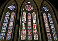 Stained glass windows at Saint Paul's Anglican Church, Charlottetown, PEI - August 2019.jpg