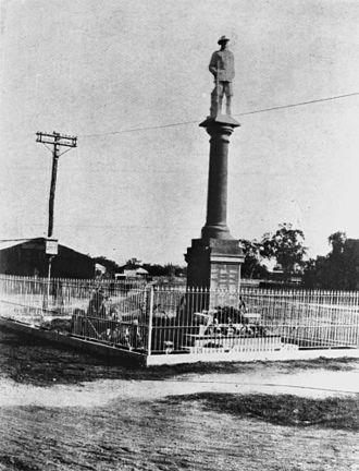 Goondiwindi War Memorial - War memorial, 1924