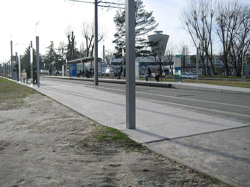 Station Doyen Brus of the Tramway de Bordeaux