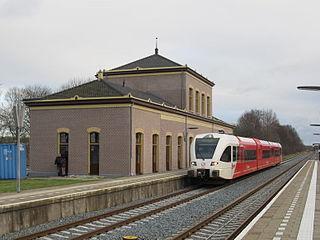 Zuidbroek railway station railway station in the Dutch village of Zuidbroek