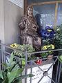 Statua di Padre Pio - Chiesa di Nostra Signora di Czestochowa - Roma 02.JPG