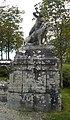 Statue appel chasse Trévarez.JPG