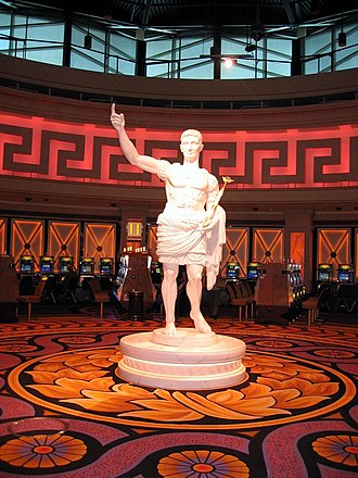 Caesars Windsor - Part of the re-branding to the Caesars name.