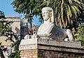 Statue of Sphinx on the Piazza del Popolo in Rome.jpg