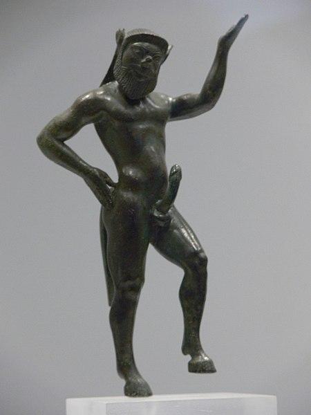 Die Satyrn und Silene Dionysos