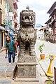 Statue of lion - Basantapur, Kathmandu Nepal-0309.jpg