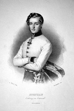 Archduke Stephen, Palatine of Hungary - Image: Stephan Erzherzog