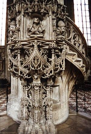 Anton Pilgram - Pulpit in St. Stephen's Cathedral, Vienna