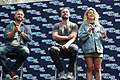 Stephen Amell and Emily Bett Rickards HVFFLondon2017Amell-ALS-6 (35183321351).jpg