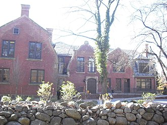 Stephen Birch - The Birch Mansion now serves as an administration building at Ramapo College of New Jersey