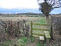 Stile on the Footpath between Flint and Bagillt - geograph.org.uk - 325580.jpg