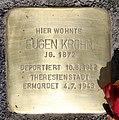 Stolperstein Badensche Str 21 (Wilmd) Eugen Krohn.jpg