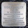 Stolperstein Birkenstr 8 (Moabi) Raimund Faller.jpg