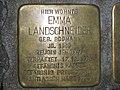 Stolperstein Emma Landschneider, 1, Holländische Straße 55, Nord (Holland), Kassel.jpg