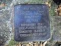 Stolperstein Frieda Maier, Meckenheimer Allee 127, Bonn.JPG