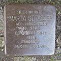 Stolperstein Herford Brüderstraße 3 Marta Strasser.JPG