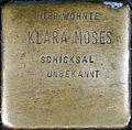 Stumbling Stone for Klara Moses (Neumarkt 25)