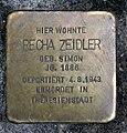 Stolperstein Poststr 20 (Mitte) Recha Zeidler.jpg
