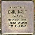 Stolperstein für Emil Kauf (Potsdam).jpg