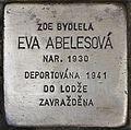 Stolperstein für Eva Abelesova.jpg
