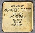 Stolperstein für Margarete Silber 2018 (Graz).jpg