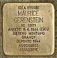 Stolperstein für Maurice Gerenstein (Belley).jpg