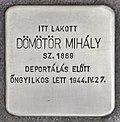 Stolperstein für Mihaly Dömötör (Szeged).jpg