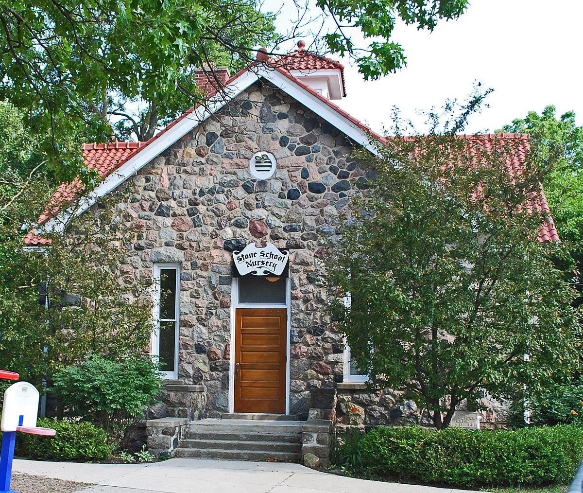 Arbor Place Dr: Stone School (Ann Arbor, Michigan)