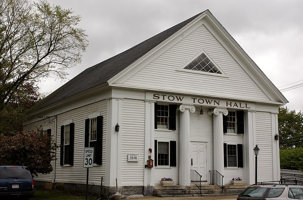 Stow MA Town Hall