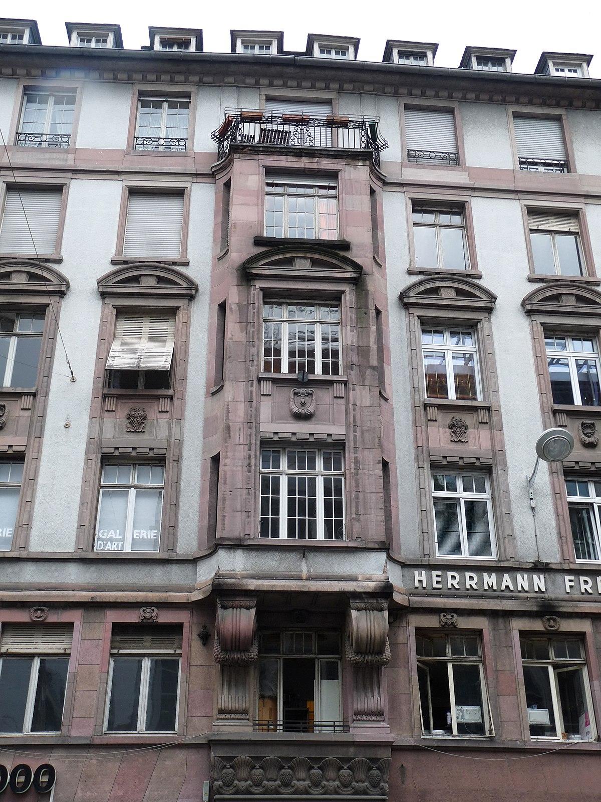 Q15950893 wikidata for Rue du miroir strasbourg