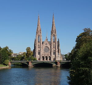 St. Paul's Church (Strasbourg) - Image: Strasbourg St Paul septembre 2015 (recadré)