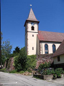 Straubenhardt Feldrennach Stephanskirche 2006 07 02