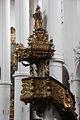 Straubing, Karmelitenkirche, Pulpit 001.JPG