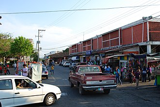 Tehuantepec - View of the main municipal market