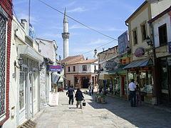 Street in Skopje 2