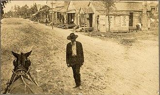 Moncks Corner, South Carolina - Street view of Moncks Corner, 1904