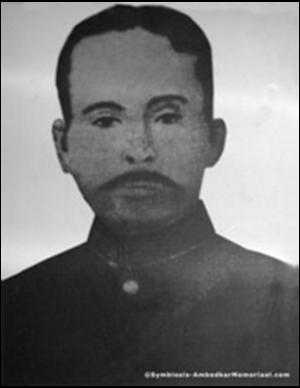 Ramji Maloji Sakpal - Image: Subhedar Ramji Maloji Sakpal (1838 1913) was the father of Dr. Babasaheb Ambedkar who was a Subedar – Major in army