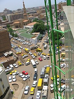 Sudan Khartoum View with Traffic 2003.jpg