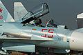 Suhkoi Su-27SM-3 Flanker 55 red (8584359312).jpg